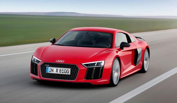 Новая Audi R8