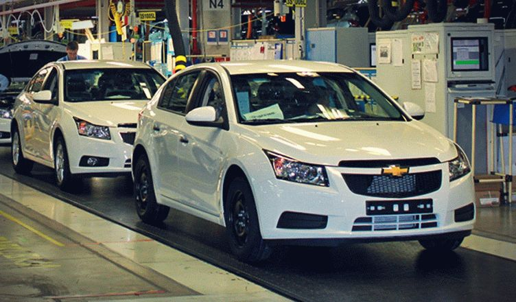 General Motors в России