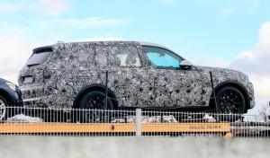 Шпионский снимок BMW X7
