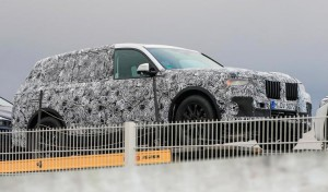 Шпионское фото BMW X7
