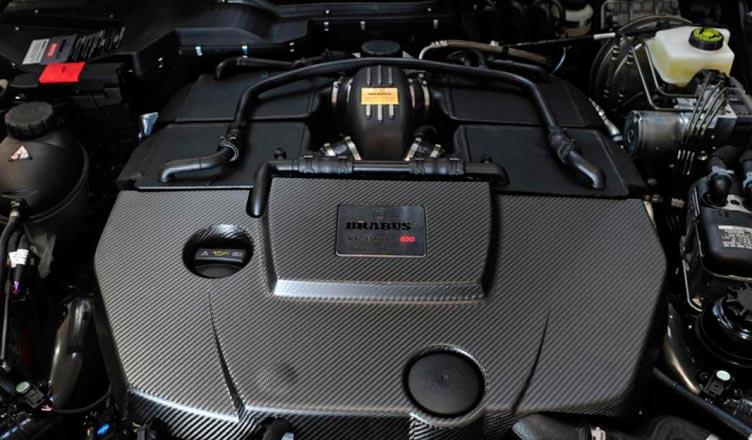 Гелендваген Брабус 2013 года двигатель