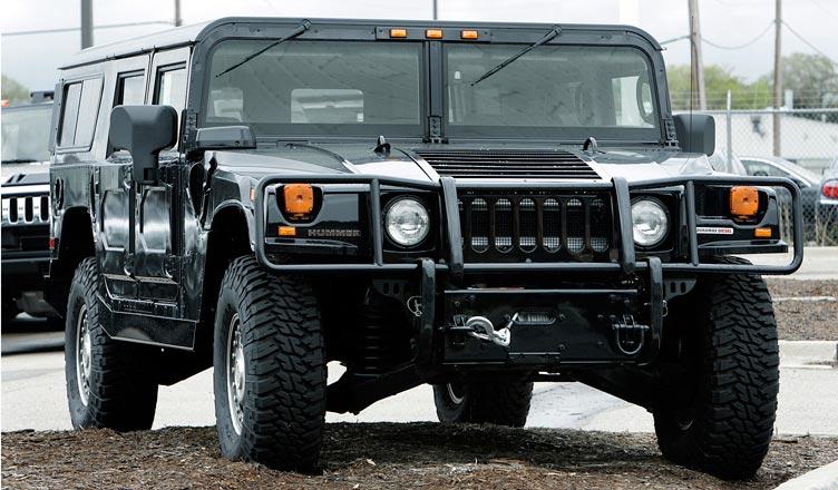Американский внедорожник Hummer H1