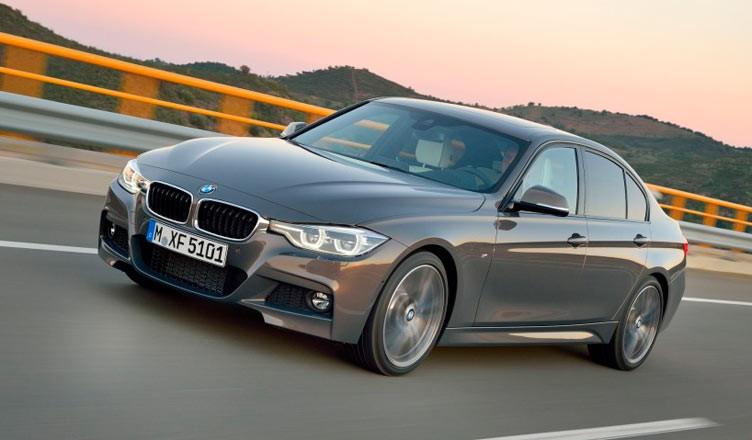 BMW 3 с 440 дизельным двигателем