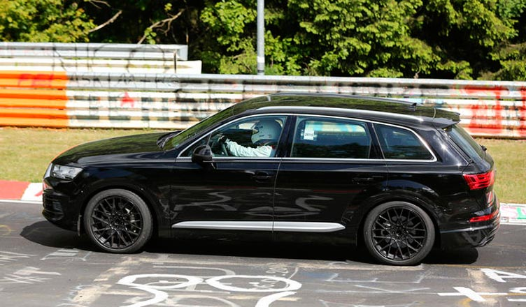 Новая Audi SQ7 2016