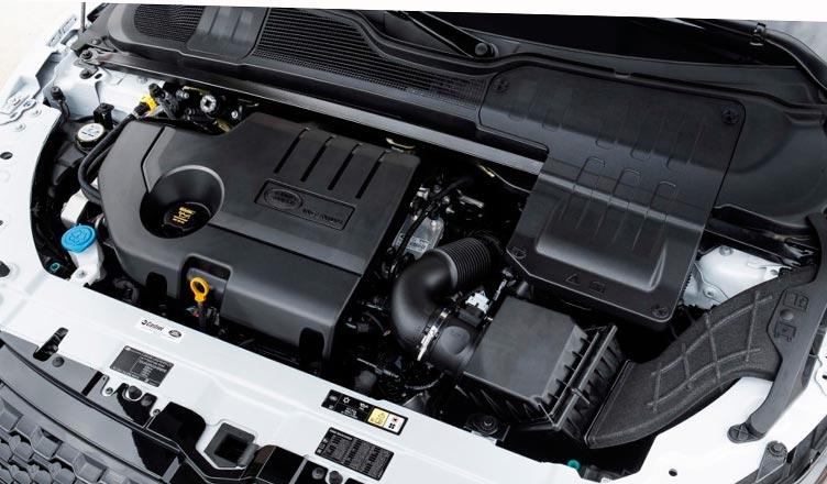 Range Rover Evoque 2016 двигатель