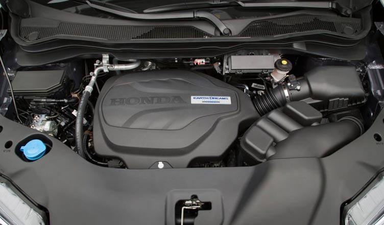 Хонда Пилот 2016: двигатель