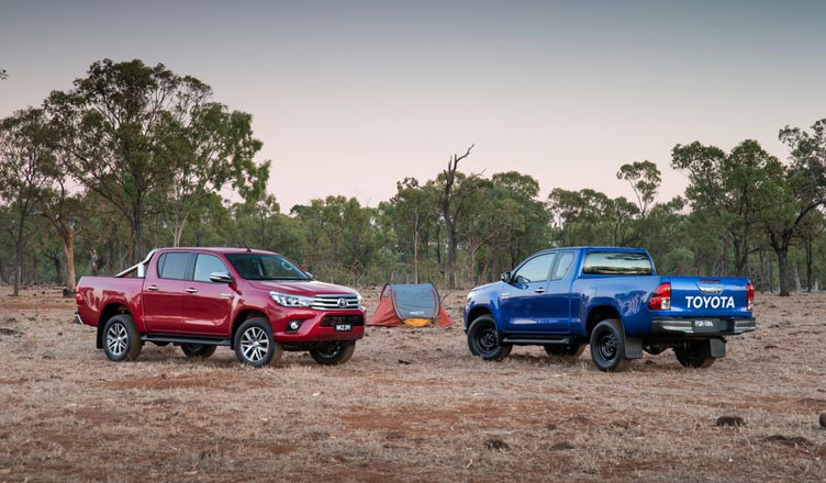 Рамные внедорожники Toyota Hilux