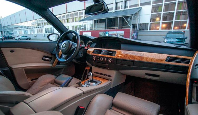 Салон BMW M5 E60