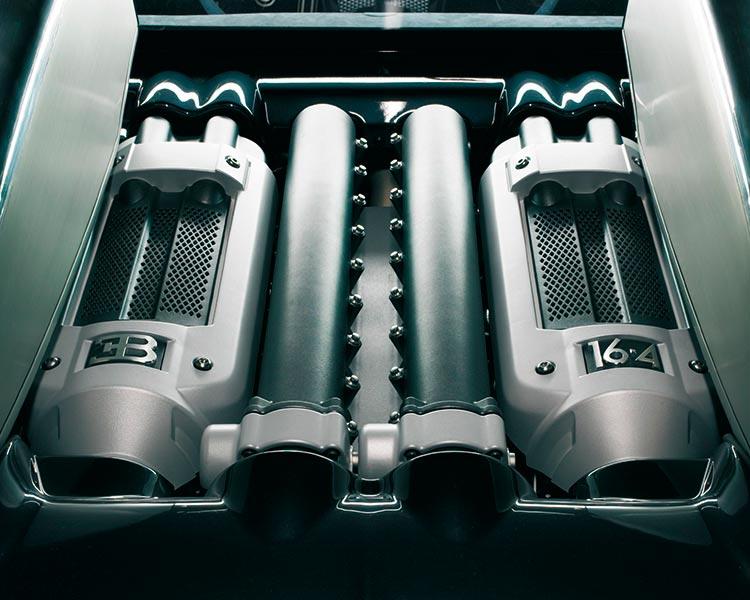Двигатель Bugatti Veyron