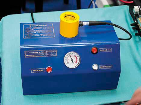 Прибор проверка свечей зажигания под давлением своими руками