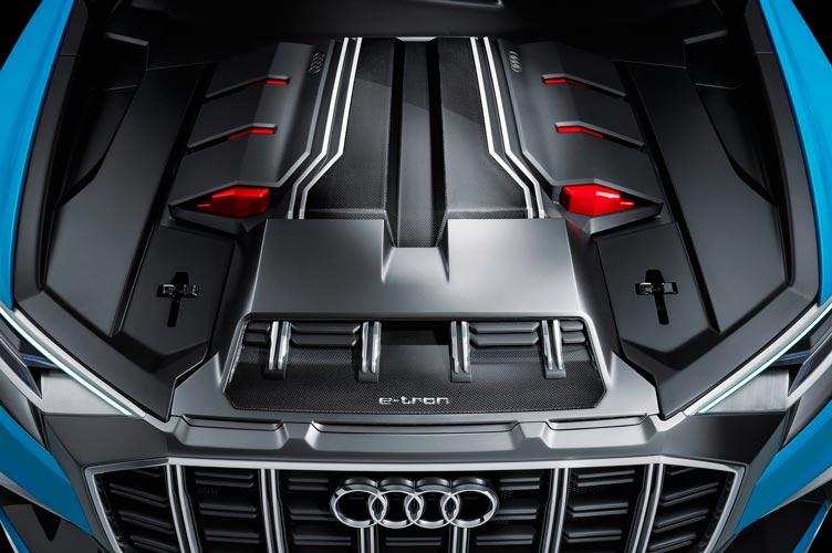 Двигатель Audi Q8