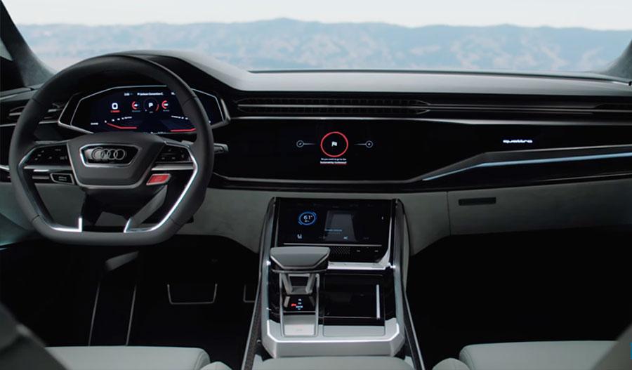 Приборная панель Audi Q8