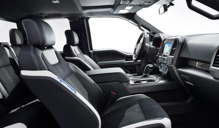 Сиденья Ford F-150 Raptor