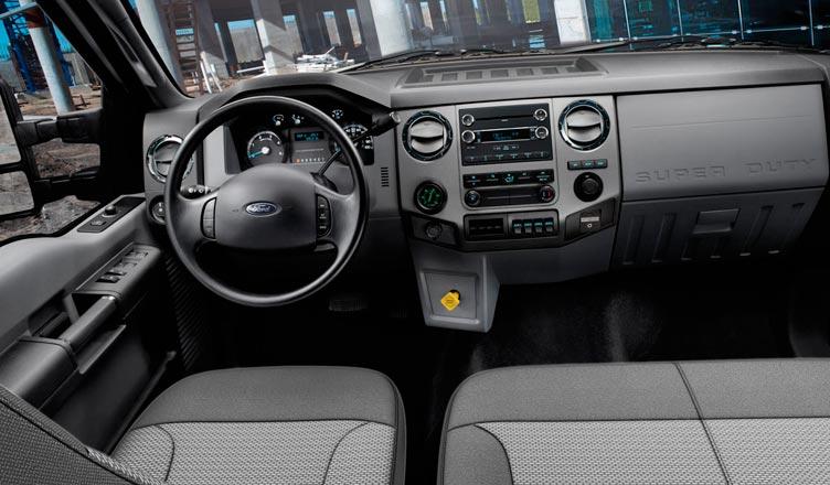 Салон Ford F650
