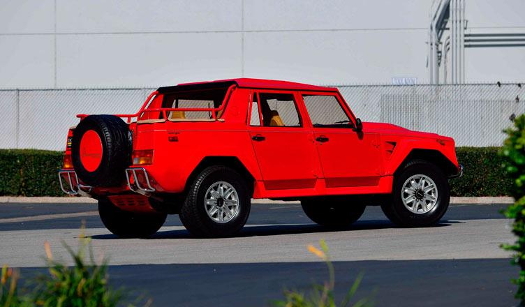 Lamborghini LM 002: вид сзади