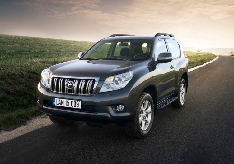 Toyota Land Cruiser Prado трехдверный