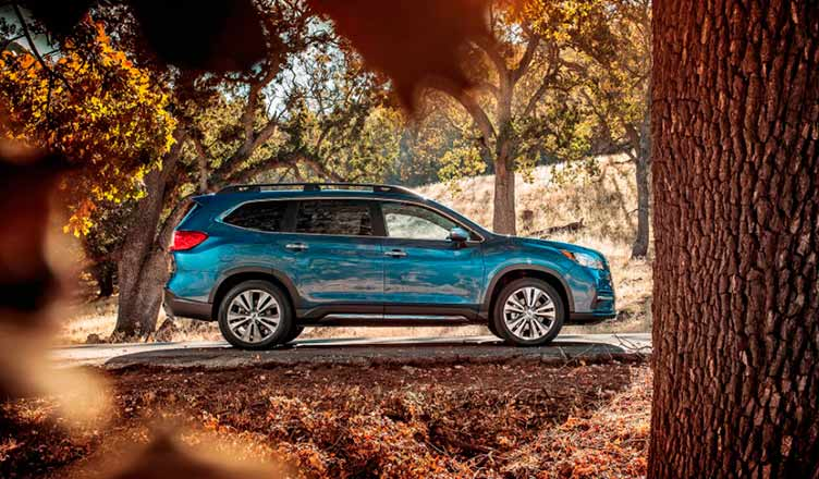 Subaru Ascent: вид сбоку