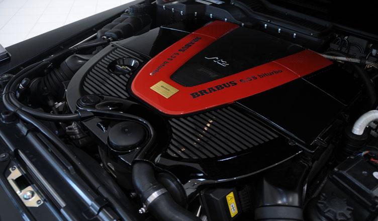 Гелендваген Брабус 2009 двигатель