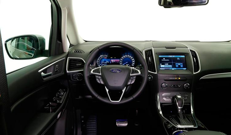 Оснащение Ford S-Max 2015