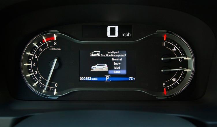 Хонда Пилот панель приборов