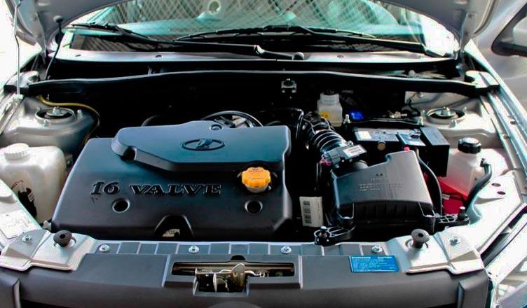 Лада Гранта лифтбек: двигатель