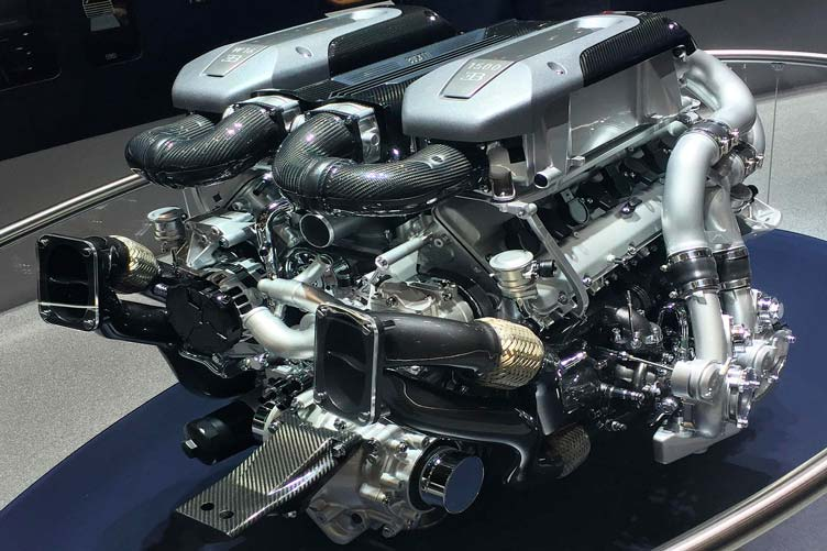 Двигатель Бугатти Широн