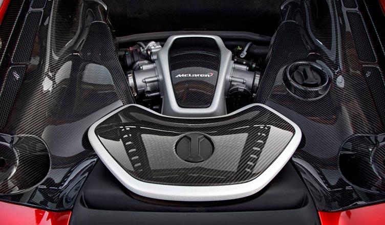 Двигатель McLaren MP4-12C