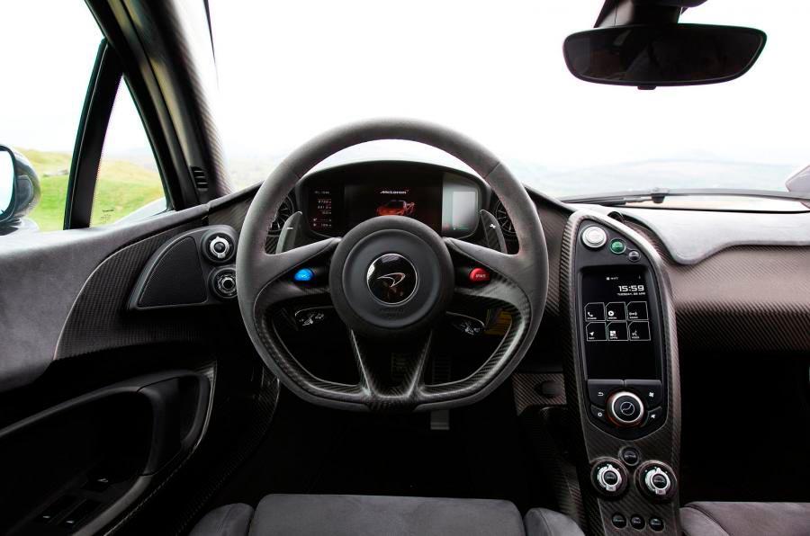 Салон McLaren P1
