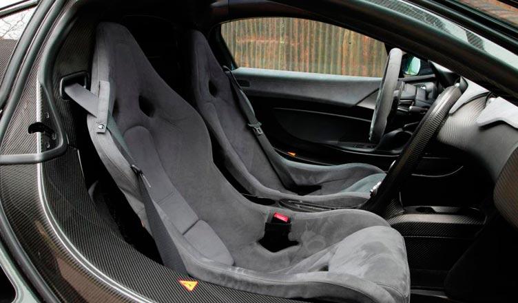 Сиденья McLaren P1