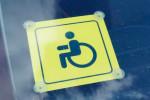 Знак Инвалид на машине