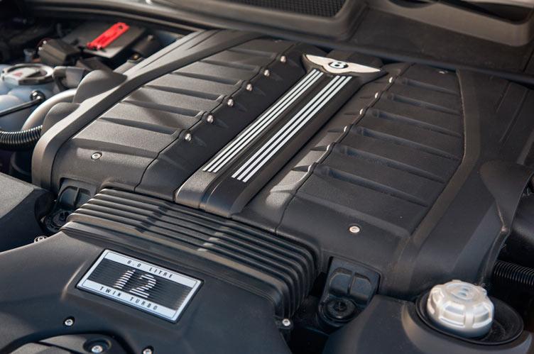 Двигатель Bentley Bentayga