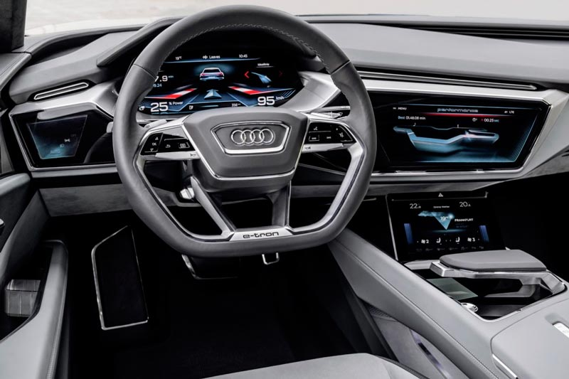 Интерьер Audi Q6