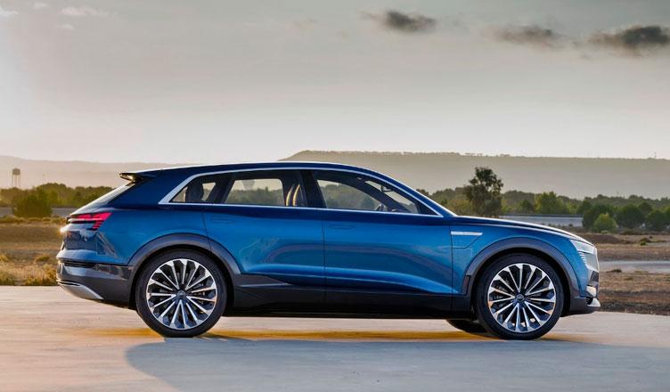 Audi Q6: вид сзади