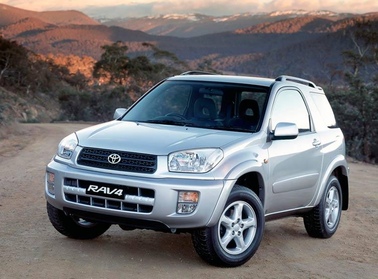 Toyota Rav4 3-дверная